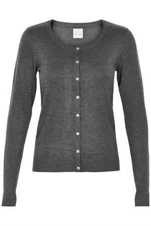 Culture Annemarie cardigan dark grey melange