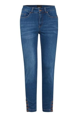Dranella Pushup19/Pam fit jeans palace blue