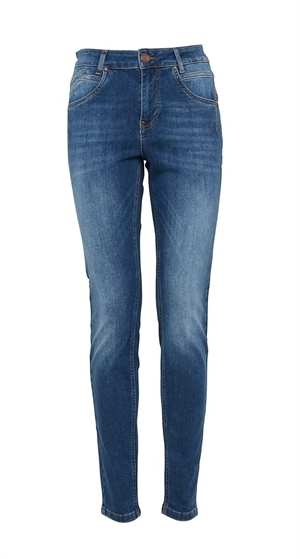 Pulz Emma jeans medium blue denim