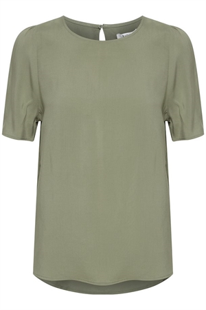 b.young joella bluse oil green