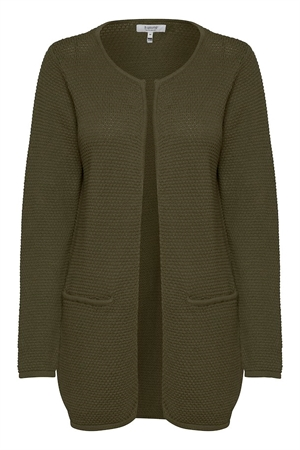 b.young mikala cardigan olive night